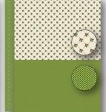 """Nellie's Choice NEVA066 Achtergrond vel A4 Christmas green """"holly"""""""