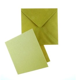Craft UK Limited 30x 6 X 6 KRAFT CARD & ENVELOPES