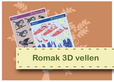Feuilles 3D Romak