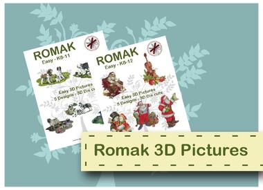Images 3D faciles en Romak
