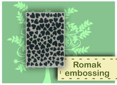 Romak embossing folders