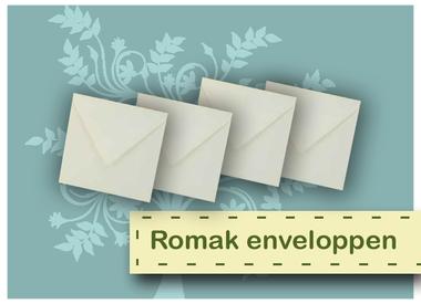 Enveloppes Romak
