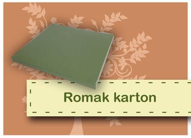 Romak cardboard