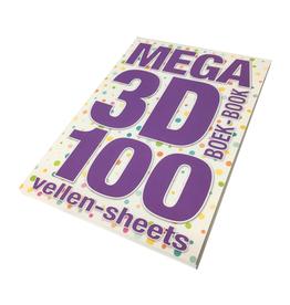 Studiolight Livre Mega 3D de 100 feuilles