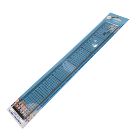 Avec ruler with metal cutting insert