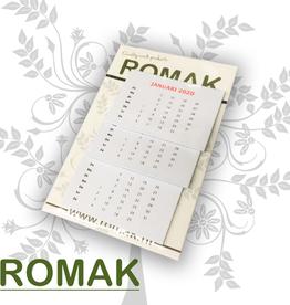 Romak Romak calendar 4x6 cm