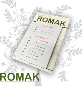 Romak Romak calendars 6x6 cm 2020