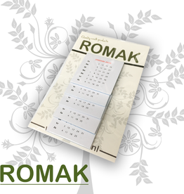 Romak Calendrier Romak 4x4 cm