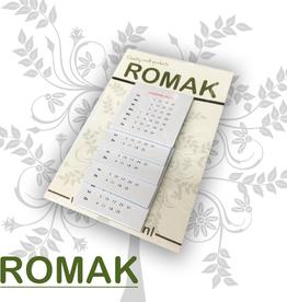 Romak Romak kalender 4x4 cm 2021