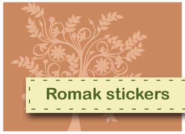 Romak stickers