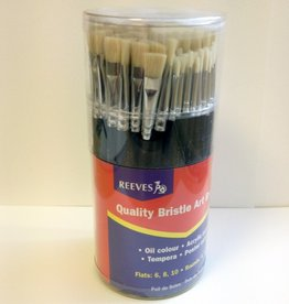 Reeves Reeves Bristle Art Brushes
