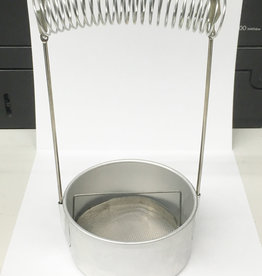 Aluminium kwast wasser en houder