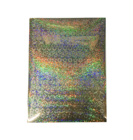 A5 Sticker sheet Christmas Holographic gold