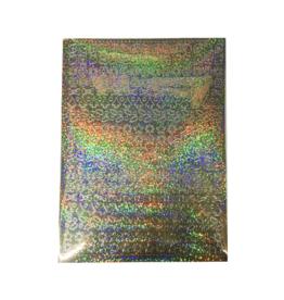 A5 Stickervel Kerst Holografisch goud