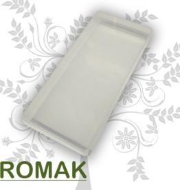 Format d'autocollant de bac de rangement en plastique