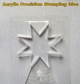 Nellie's Choice APBS001 Acrylblock für Präzisionsstempel