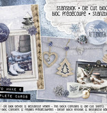 Studiolight Stansblok A5 Content 12 Sheets Die Cut, Snowy Afternoon nr.23