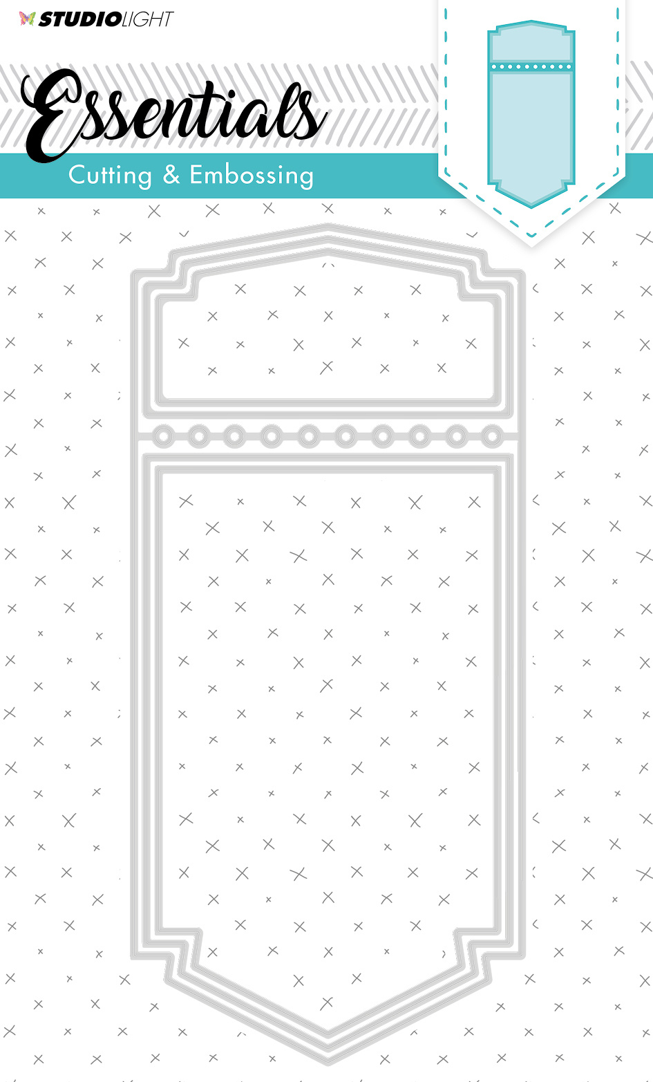 Studiolight Embossing Die Cut 205x95 mm Essentials nr. 199