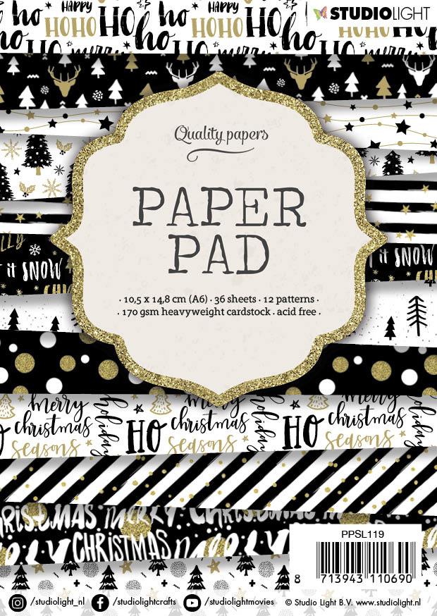 Studiolight Paper Pad A6, 36 vel, 12 patronen nr.119