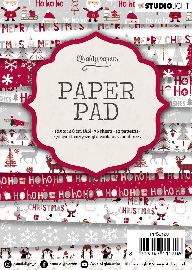 Studiolight Paper Pad A6, 36 vel, 12 patronen nr.120