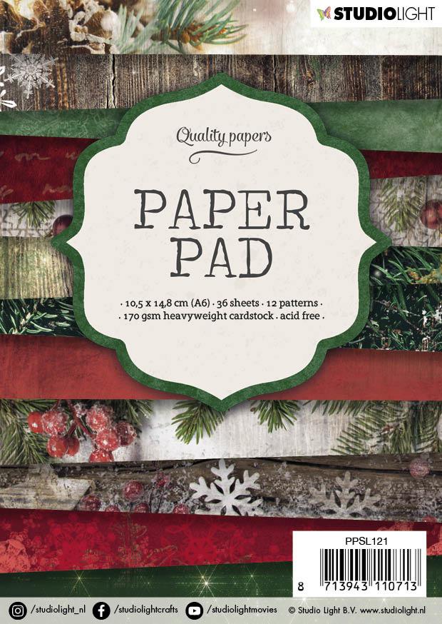 Studiolight Paper Pad A6, 36 vel, 12 patronen nr.121