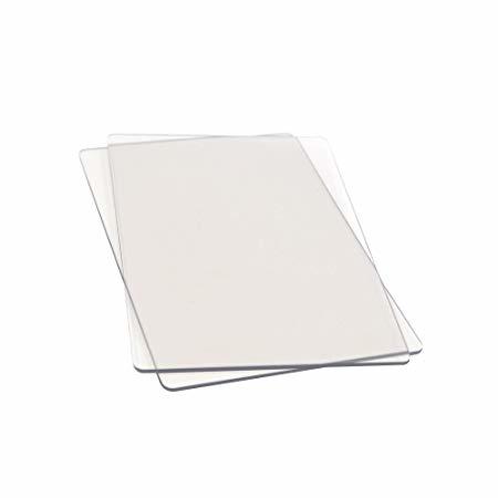 Sizzix Plaque de découpage de rechange Sizzix, 22,5 x 15,5 cm, blister ZB, boîte de 2