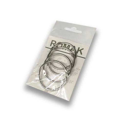 Metalen klik ringen / boekbindersringen
