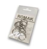 Klickringe / Buchbinderringe aus Metall