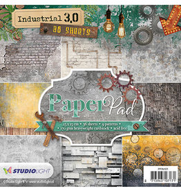 Studiolight Paper Pad Industrial 3.0, No. 101