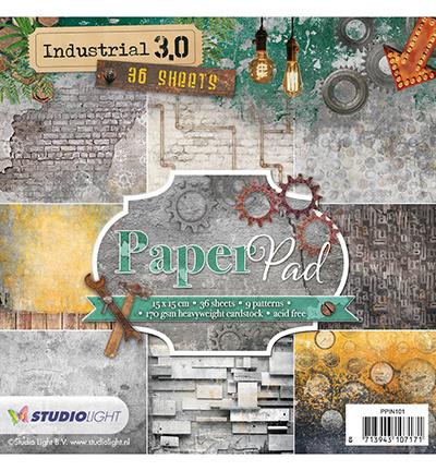 Studiolight Paper Pad Industrial 3.0, No. 101