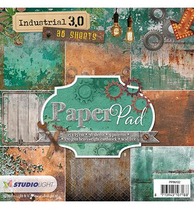 Studiolight Paper Pad Industrial 3.0, Nr. 102