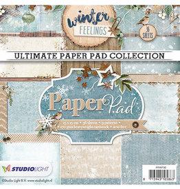Studiolight Paper Pad Blok, Winter Feelings nr.90