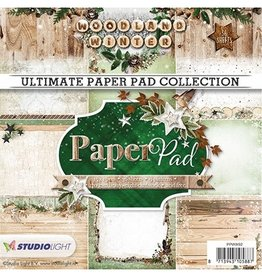 Studiolight Paperpad Woodland Winter, n ° 91