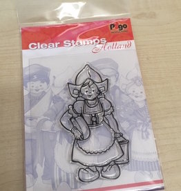 Pigo Productions Clear Stamp Holland Boerin