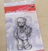 Pigo Productions Clear Stamp Holland Farmer