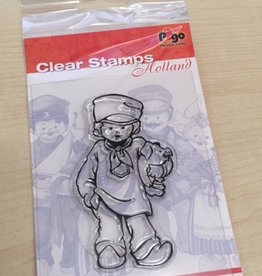 Pigo Productions Clear Stamp Holland Farmer