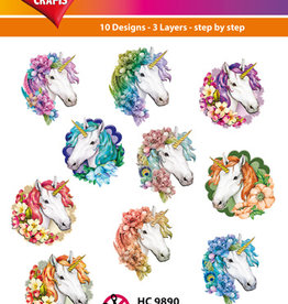 Hearty Crafts Easy 3D - Unicorn