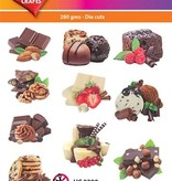 Hearty Crafts Easy 3D-Toppers - Chocolate Paradise