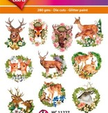 Hearty Crafts Easy 3D-Toppers Deer - Forest