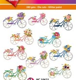 Hearty Crafts Easy 3D-Toppers Bicycles