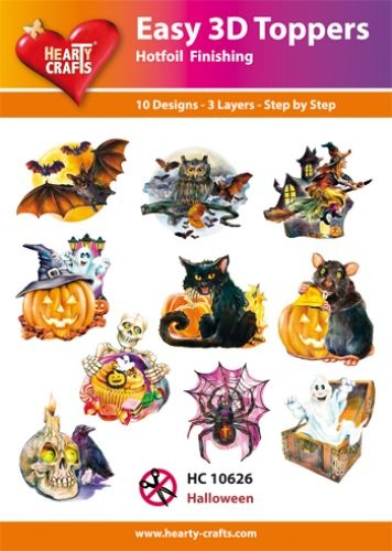 Hearty Crafts Easy 3D - Halloween