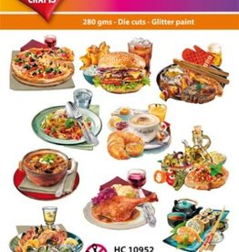 Hearty Crafts Easy 3D-Toppers Eat & Drink