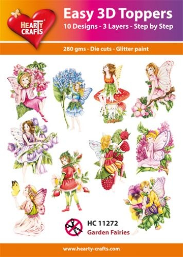 Hearty Crafts Easy 3D - Garden Faries