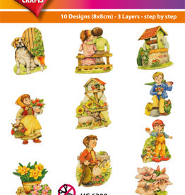 Hearty Crafts Easy 3D - Garden Designs