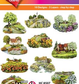Hearty Crafts Easy 3D - Summer Village  5 - 10 cm