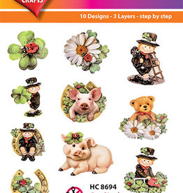 Hearty Crafts Easy 3D - Good Luck 6-8,5 cm