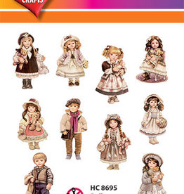 Hearty Crafts Easy 3D - Dolls 5-10,5 cm