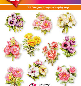Hearty Crafts Easy 3D - Garden Flowers