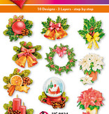 Hearty Crafts Easy 3D - Christmas Ornaments