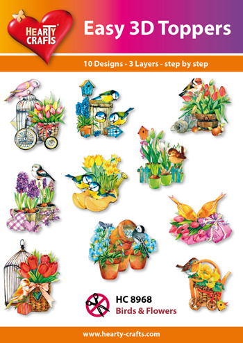 Hearty Crafts Easy 3D - Birds and Flowers